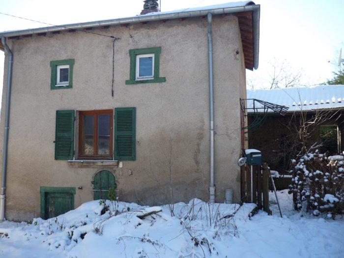 Maison mitoyenne 1 côté Monsols 105 m² - 69 000 €