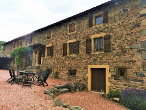 Maison ancienne - Lamure-sur-Azergues - 126 m² - 395 000 €