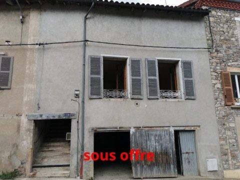 Maison mitoyenne 2 côtés - Beaujeu - 70 m² - 85 000 €