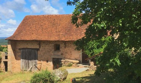 Maison en pierre isolée à vendre à Suin