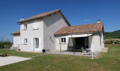 Maison contemporaine Cluny 154 m²