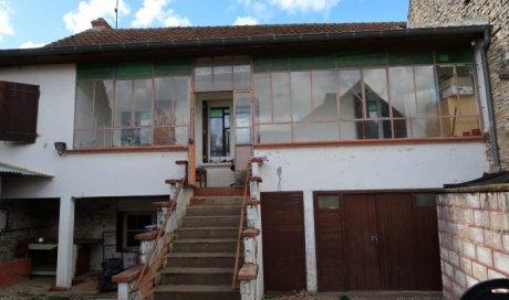 Maison mitoyenne 1 côté Cortevaix 50 m² - 79 000 €